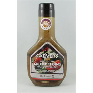 Carvers Homestyle Greek Dressing 12 / 250ml