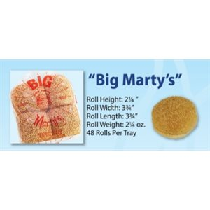 Martin's Seeded Big Marty Rolls 6x8pc