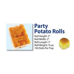 Martin's Potato Party Rolls 8 / 24pc