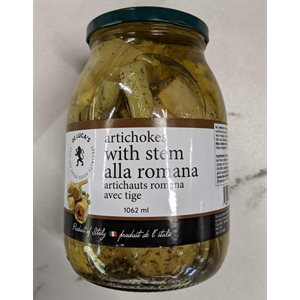 De Luca's Artichokes with Stem Alla Romana 6 / 1062ml