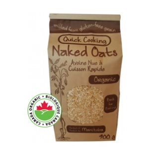Adagio Acres Organic Quick Cooking Naked Oats 6 / 900g