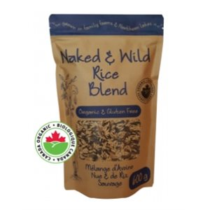 Adagio Acres Organic Naked & Wild Rice Blend 6 / 600g