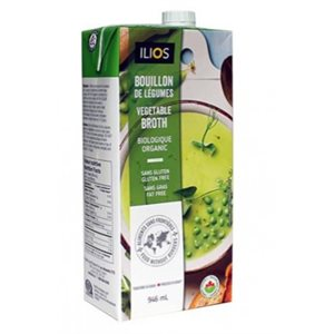 Ilios Organic Vegetable Broth 12 / 946ml