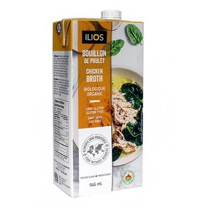 Ilios Organic Chicken Broth 12 / 946ml