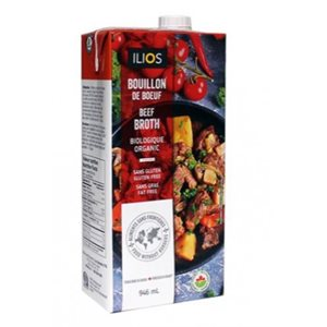 Ilios Organic Beef Broth 12 / 946ml