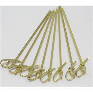 Bamboo Skewers 10.5cm w / Knot 500's